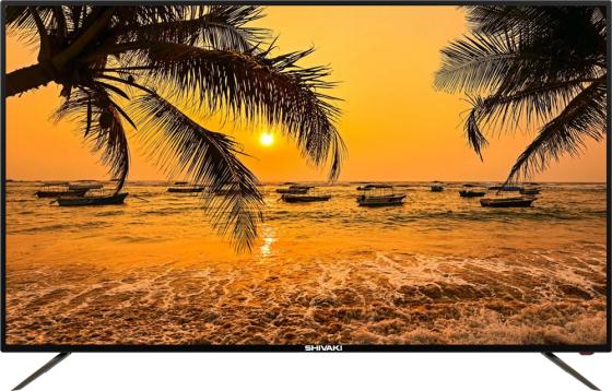 """Телевизор LED 55"""" SHIVAKI STV-55LED17 черный 1920x1080 50 Гц VGA USB SCART цена 2017"""