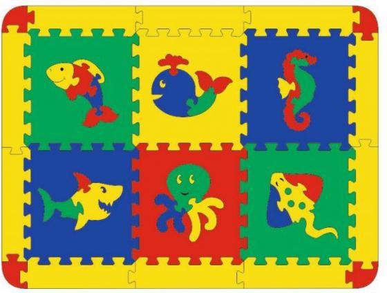 Коврик Морской 6 дет. коврик напольный vortex вологодский 20092