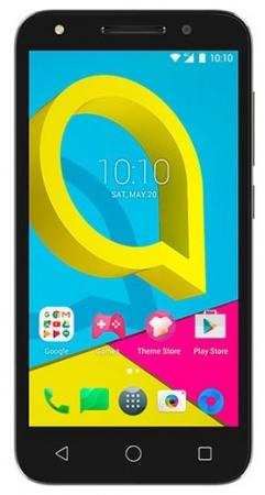 Смартфон Alcatel U5 HD 5047D черный 5 8 Гб LTE Wi-Fi GPS 3G смартфон philips s395 голубой 5 7 16 гб lte wi fi gps 3g cts395bu 00