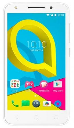 Смартфон Alcatel U5 HD 5047D белый 5 8 Гб LTE Wi-Fi GPS 3G смартфон micromax q334 canvas magnus черный 5 4 гб wi fi gps 3g