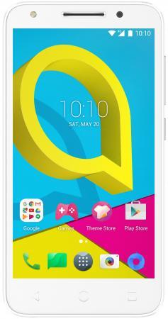 Смартфон Alcatel U5 5044D белый 5 8 Гб LTE Wi-Fi GPS 3G смартфон micromax q334 canvas magnus зеленый 5 4 гб wi fi gps 3g