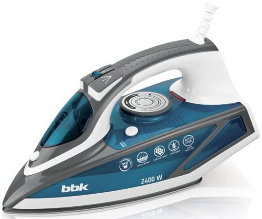 Утюг BBK ISE-2402 2400Вт синий утюг bbk ise 2200