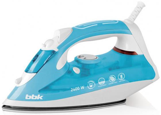 лучшая цена Утюг BBK ISE-2400 2400Вт голубой