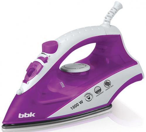 Утюг BBK ISE-1802 1800Вт фиолетовый bbk ise 1802 violet утюг