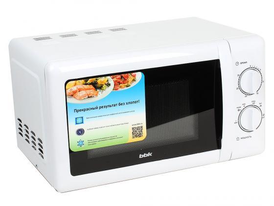 Микроволновая печь BBK 20MWS-716M/W 700 Вт белый микроволновая печь bbk bbk 20mwg 738m w 700 вт белый