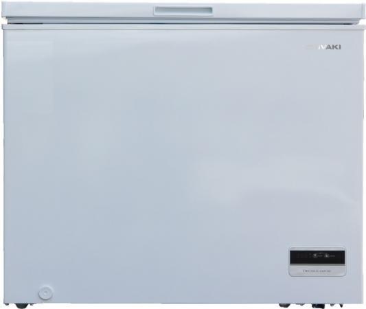 Морозильный ларь SHIVAKI CF-3001DW белый морозильный ларь бирюса б 260к