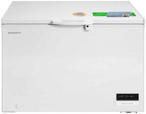 лучшая цена Морозильный ларь Kraft BD(W)-275BL белый