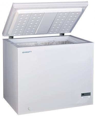 Морозильная камера Kraft BD(W)-225BL белый морозильный ларь kraft bd w 275qx белый