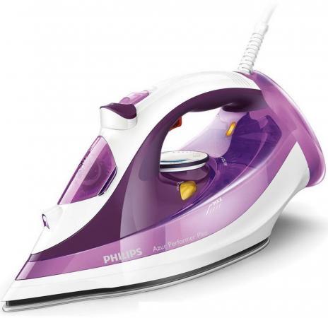 Утюг Philips GC4519/30 2400Вт фиолетовый белый philips hd9015 30