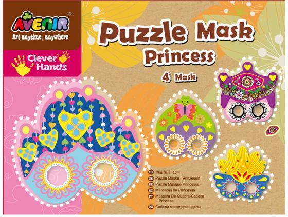 Набор для изготовления украшений Avenir Собери маску принцессы CH1054 от 6 лет