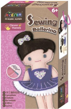 Набор для шитья Avenir Балерина CH1382 наборы для рисования avenir набор для рисования