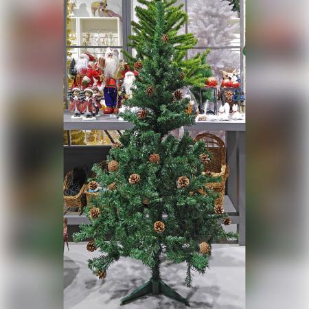 Ель Winter Wings N03345 90 см с шишками елка искусственная triumph императрица с шишками 73263 230 см
