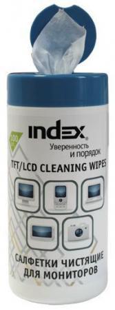 все цены на Чистящие салфетки Index ICCW02100G 100 шт онлайн