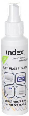Спрей-очиститель Index ICCS125M 125 мл depilflax увлажняющая эмульсия спрей 125 мл увлажняющая эмульсия спрей 125 мл 125 мл