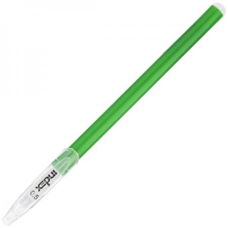 Шариковая ручка Index IBP4120/GN зеленый 0.5 мм цены