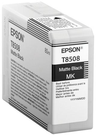 Картридж Epson C13T850800 для Epson SureColor SC-P800 черный матовый original cc03main mainboard main board for epson l455 l550 l551 l555 l558 wf 2520 wf 2530 printer formatter