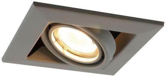 Встраиваемый светильник Arte Lamp Cardani Piccolo A5941PL-1GY arte lamp встраиваемый светодиодный светильник arte lamp cardani a1212pl 1wh