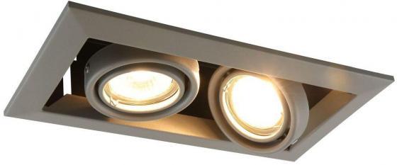 Встраиваемый светильник Arte Lamp Cardani Piccolo A5941PL-2GY arte lamp встраиваемый светодиодный светильник arte lamp cardani a1212pl 1wh
