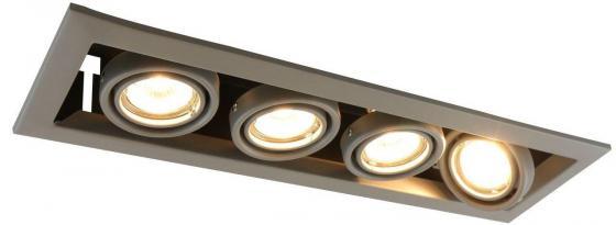 Встраиваемый светильник Arte Lamp Cardani Piccolo A5941PL-4GY arte lamp встраиваемый светодиодный светильник arte lamp cardani a1212pl 1wh