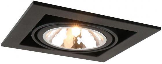 Встраиваемый светильник Arte Lamp Cardani Semplice A5949PL-1BK arte lamp встраиваемый светодиодный светильник arte lamp cardani a1212pl 1wh