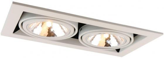 Встраиваемый светильник Arte Lamp Cardani Semplice A5949PL-2WH встраиваемый светильник arte lamp cardani semplice a5949pl 1wh
