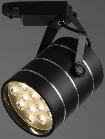 Трековый светодиодный светильник Arte Lamp Cinto A2712PL-1BK трековый светодиодный светильник arte lamp cinto a2712pl 1wh