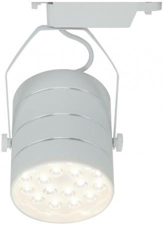 Трековый светодиодный светильник Arte Lamp Cinto A2718PL-1WH трековый светодиодный светильник arte lamp cinto a2712pl 1wh