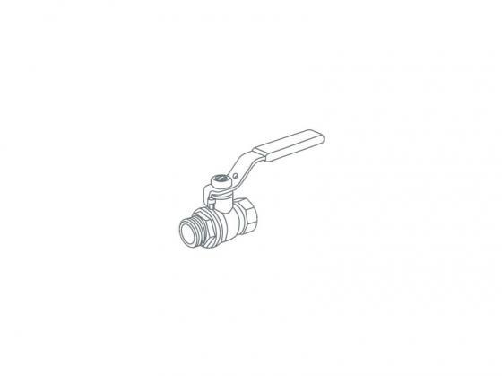 Кран шаровый Royal Thermo EXPERT для газа 3/4 НВ стальной рычаг кран шаровый royal thermo expert для газа 1 2 нв стальной рычаг