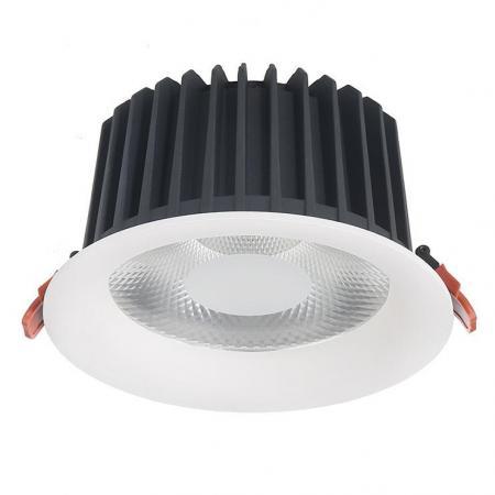 Встраиваемый светодиодный светильник Donolux DL18838/38W White R Dim 4000K встраиваемый светодиодный светильник donolux dl18838 38w white r dim 4000k