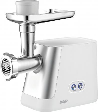 Электромясорубка BBK MG2008 400 Вт белый серебристый соковыжималка steba e 400 400 вт серебристый