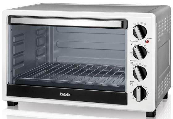 Мини-печь BBK OE4522MC белый металлик мини печь bbk oe2654m 2p white black