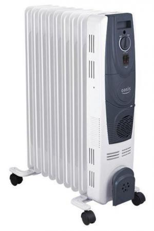 Масляный радиатор Oasis OB-15T 1500 Вт белый oasis lk 15