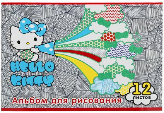 Альбом для рисования Action! Hello Kitty A4 12 листов HKO-AA-12-4 в ассортименте альбом для рисования action strawberry shortcake a4 12 листов sw aa 12 в ассортименте
