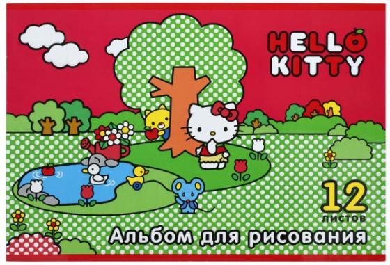 Альбом для рисования Action! Hello Kitty A4 12 листов HKO-AA-12-3 в ассортименте альбом для рисования action love is a4 40 листов li aa 40 в ассортименте