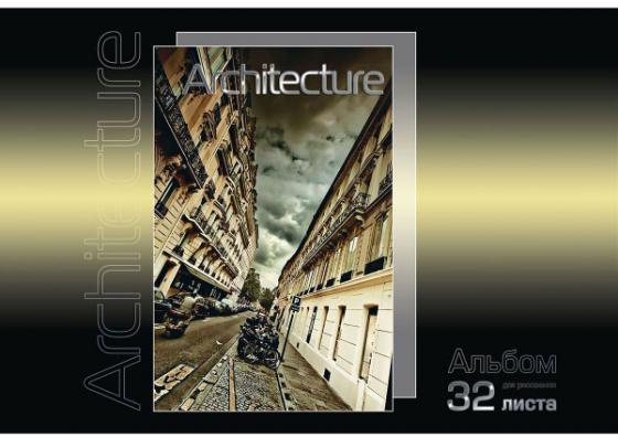 Альбом для рисования Action! Архитектура A4 32 листа AA-32/5 в ассортименте альбом для рисования action dragons a4 24 листа dr aa 24 в ассортименте dr aa 24