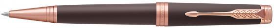 Шариковая ручка поворотная Parker Premier Soft Brown PGT черный M 1931408 hidesign business parker 01 parker 01 brown