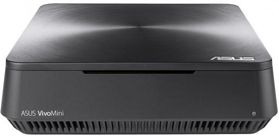 Неттоп Asus VivoPC VM45-G020M slim Cel 3865U (2.4)/4Gb/SSD128Gb/HDG610/noOS/GbitEth/WiFi/BT/65W/клавиатура/мышь/серый неттоп asus vivopc vm42 s031m celeron 2957u 1 6ghz 4gb 500gb wifi bt noos silver