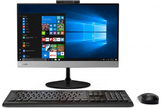 Моноблок Lenovo ThinkCentre V410z 21.5 Full HD i3 7100T (3.9)/4Gb/1Tb 7.2k/530 2Gb/noOS/WiFi/BT/клавиатура/мышь/Cam/черный relaxgo 5 android touch car dvr gps navigation rearview mirror car camera dual lens wifi dash cam full hd 1080p video recorder