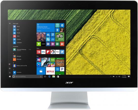 Моноблок 21.5 Acer Aspire Z22-780 1920 x 1080 Intel Core i5-7400T 4Gb 1Tb Intel HD Graphics 630 DOS черный DQ.B82ER.006 моноблок acer aspire z3 715 dq b84er 006 23 8 full hd i5 7400t 4gb 1tb gf940m 2gb dvdrw cr w10 kb m черный