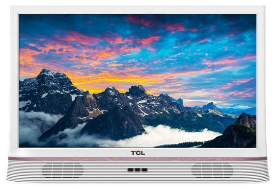 "Телевизор LED 24"" TCL LED24D2900SA белый 1366x768 60 Гц VGA"