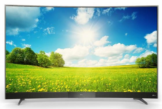 Телевизор LED 49 TCL L49P3CFS стальной 1920x1080 60 Гц Wi-Fi Smart TV RJ-45 телевизор led 65 tcl l65c1cus curve черный серебристый 3840x2160 60 гц smart tv wi fi vga rj 45
