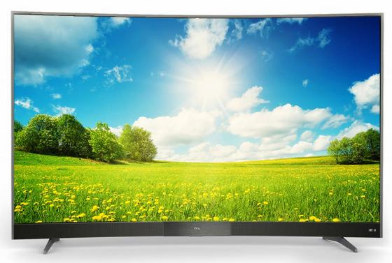 Телевизор LED 49 TCL L49P3CFS стальной 1920x1080 60 Гц Wi-Fi Smart TV RJ-45 телевизор 32 tcl led32d2930 черный 1366x768 60 гц wi fi smart tv usb vga s pdif rj 45