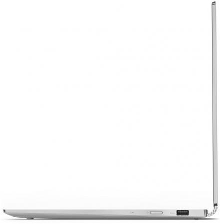 "Ультрабук Lenovo YOGA 920 Glass 13.9"" 3840x2160 Intel Core i7-8550U 512 Gb 16Gb Intel UHD Graphics 620 серебристый Windows 10 Home 80Y8000WRK"
