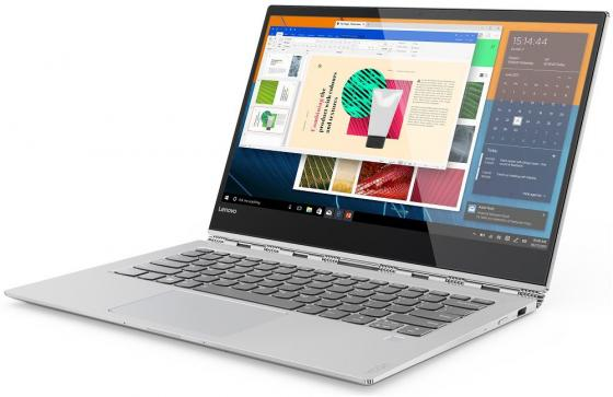Ультрабук Lenovo YOGA 920 Glass 13.9 3840x2160 Intel Core i5-8250U 256 Gb 8Gb Intel UHD Graphics 620 серебристый Windows 10 Home 80Y8000VRK ультрабук hp elitebook 840 g5 3jx01ea intel core i5 8250u 1600 mhz 14 1920x1080 8gb 256gb ssd dvd нет intel uhd graphics 620 wi fi bluetooth windows 10 pro