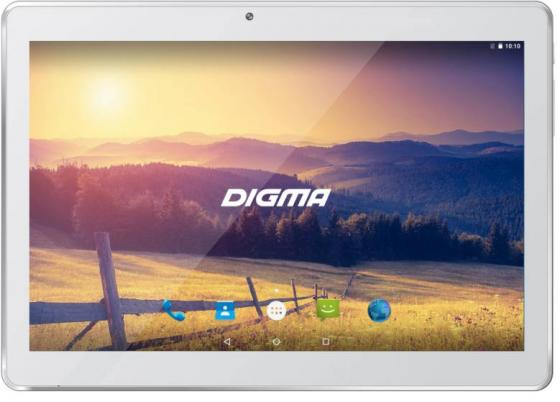 Планшет Digma Plane 1524 3G 10.1 16Gb белый Wi-Fi 3G Bluetooth Android PS1136MG планшет digma plane 7012m 3g orange black ps7082mg