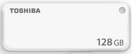 Фото - Флешка USB 128Gb Toshiba TransMemory U401 USB2.0 THN-U203W1280E4 белый usb флешка toshiba owari u401 32gb thn u401s0320e4 usb 2 0 20 мб с 11 мб с