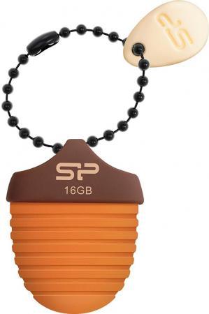 Фото - Флешка USB 16Gb Silicon Power Touch T30 SP016GBUF2T30V1E коричневый флешка silicon power touch t30 8 gb голубой