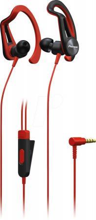 Гарнитура Pioneer SE-E5T-R красный наушники pioneer se e5t h