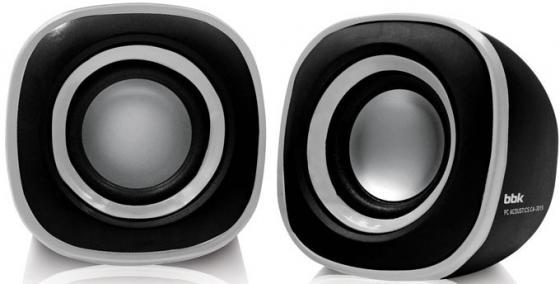 Колонки BBK CA-301S 2x1.5 Вт черный/металлик стоимость