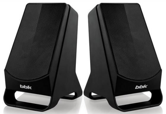 Колонки BBK CA-199S 2x3 Вт черный колонки bbk ca 199s 2x3 вт черный